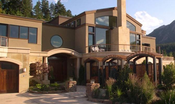 Contemporary Mediterranean Home Exterior