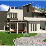 Contemporary Mix Modern Home Designs Kerala Design Floor