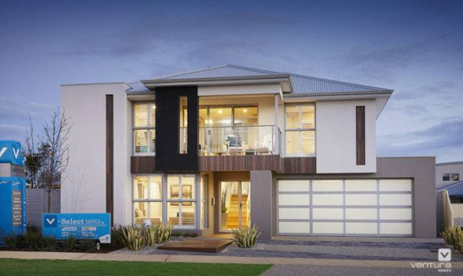 Contemporary Modern Double Storey House Home Design