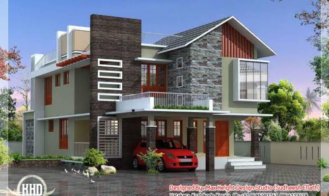 Contemporary Modern Home Design Custom Decor Plans