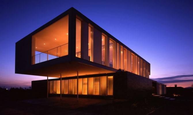 Contemporary Modern House Chilean Countryside Gatica