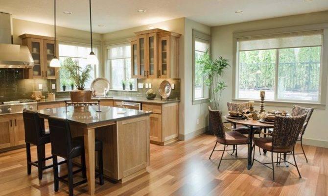 Contemporary Open Plan Dining Room Ideas Interior Design
