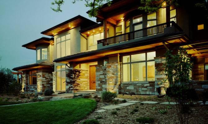 Contemporary Prairie Style Exterior