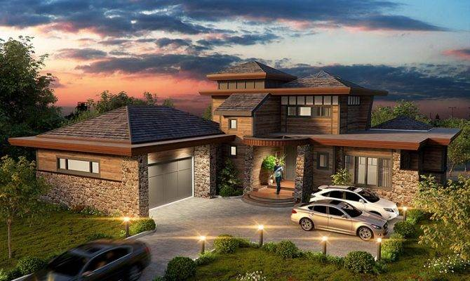 Contemporary Prairie Style Ranch House Plan