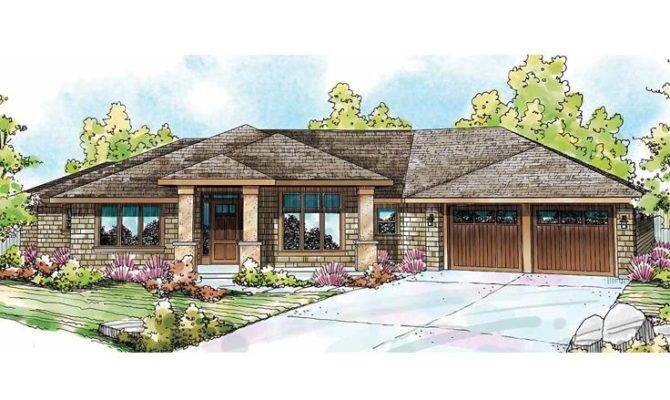 Contemporary Ranch House Plans Modern