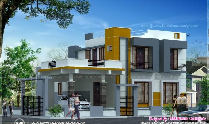 Contemporary Square Feet Home Design Kerala Plans