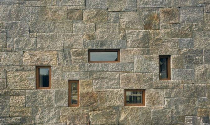 Contemporary Stone Houses Design Leroy Street Studio