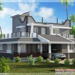 Contemporary Style Bedroom Home Plan Kerala