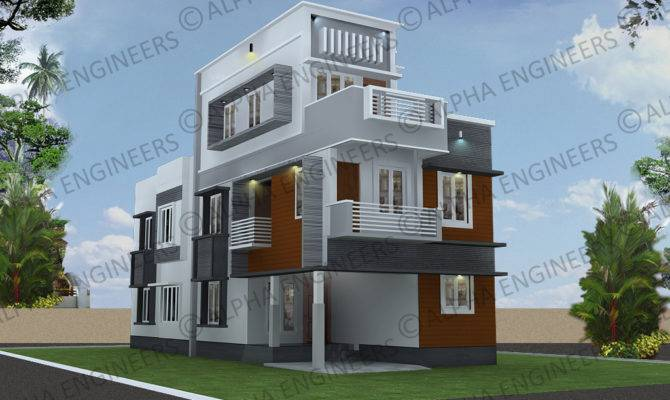 Contemporary Style Designs Kerala Model Home Plans