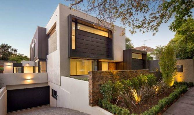 Contemporary Style Home Domoney Architecture