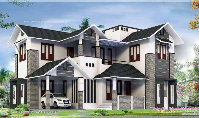 Contemporary Style Home Plans Kerala Lovely Bungalow