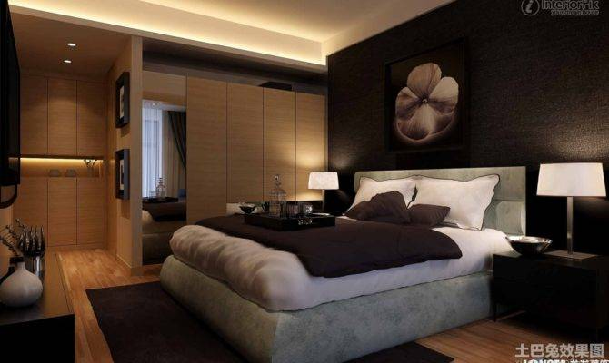 Contemporary Style Master Bedroom Decoration Effect