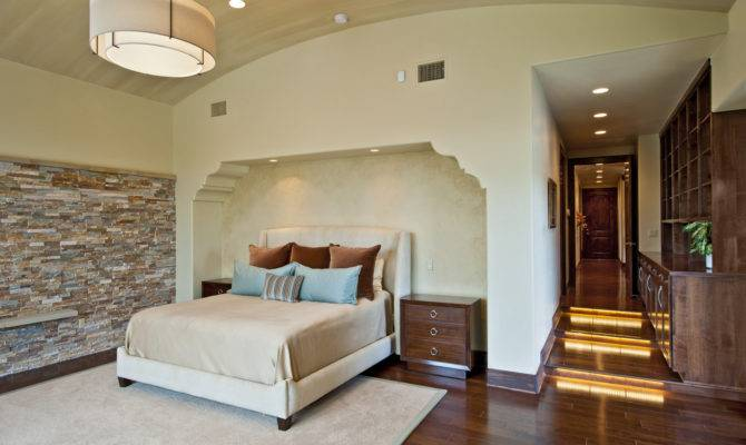 Contemporary Tuscan Master Bedroom Spanish Stairs Idea Decosee
