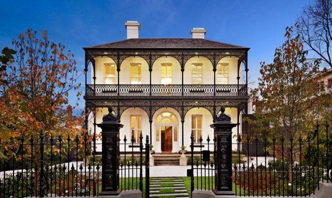 Contemporary Victorian House South Yarra Melbourne Caandesign
