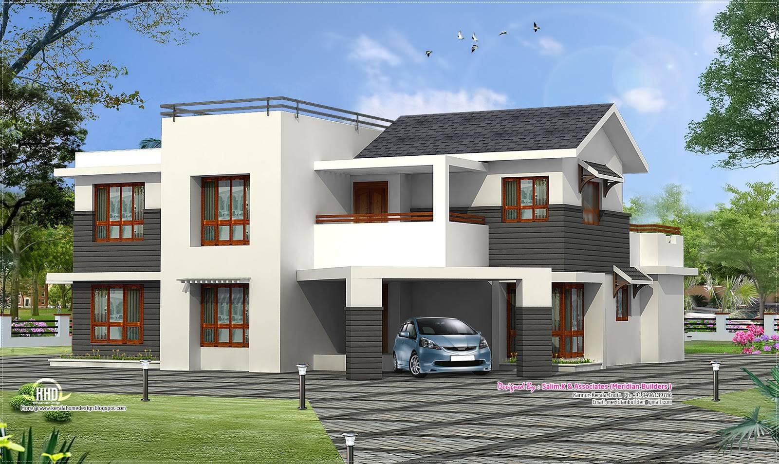 Contemporary Villa Design Kannur Kerala Home Plans