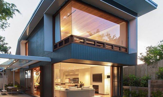 Coogee House Sydney Featuring Lovely Glass Roofed