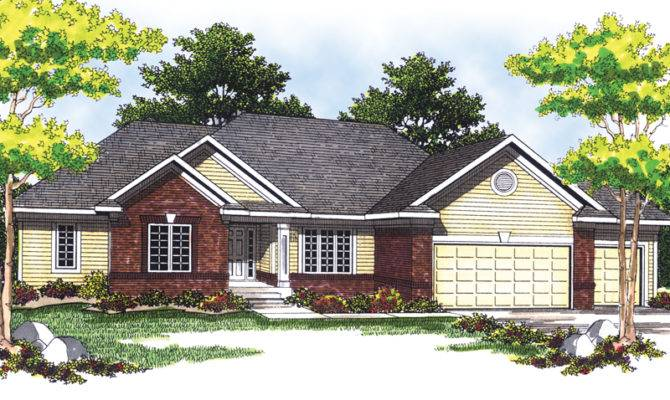 Cool Dell Ranch Home Plan House Plans More