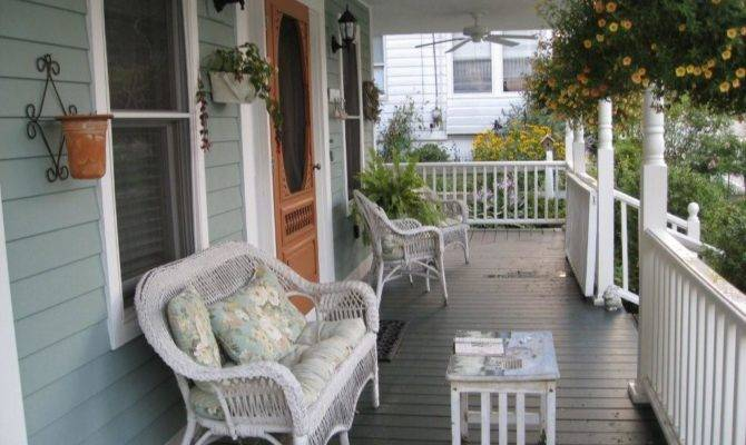 Cool Front Porch Designs Decorating