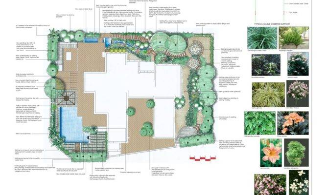Cool Landscape Floor Plan Architecture Plans