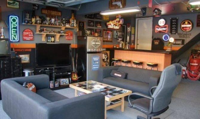 Cool Man Cave Ideas Men Manly Space Designs