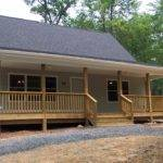 Cool Porch Design Mobile Homes Furnished Glass Windows