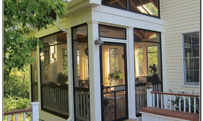 Cool Screen Porch Ideas Porches Home Furniture Design