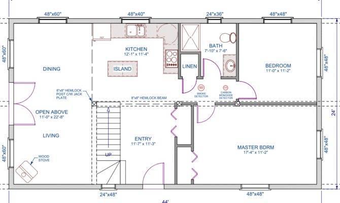 Cool Small Open Floor Plans Loft Architecture