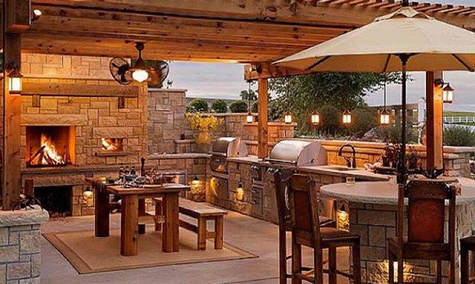 Cool Stone Outdoor Kitchen Design Plans Pixels Ikea