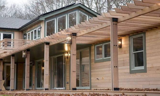 Cool Wooden Frame House Sag Harbor Digsdigs