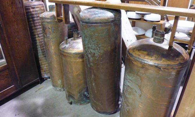 Copper Hot Water Cylinders Tanks Trade
