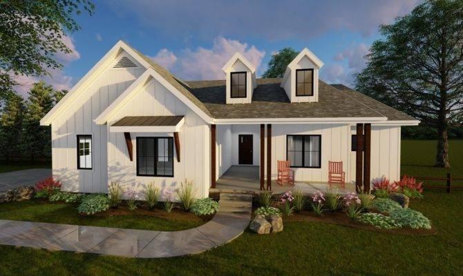 Copperden Modern Farmhouse Ranch Advanced House Plans