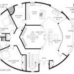 Cordwood Round Home Floor Plan Cob Houses Pinterest