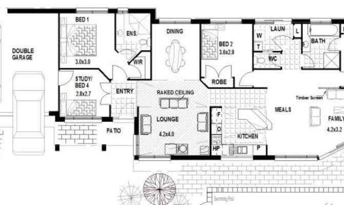 Corner Block Home Designs House Narrow Lot