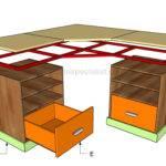 Corner Desk Howtospecialist Build Step Diy Plans