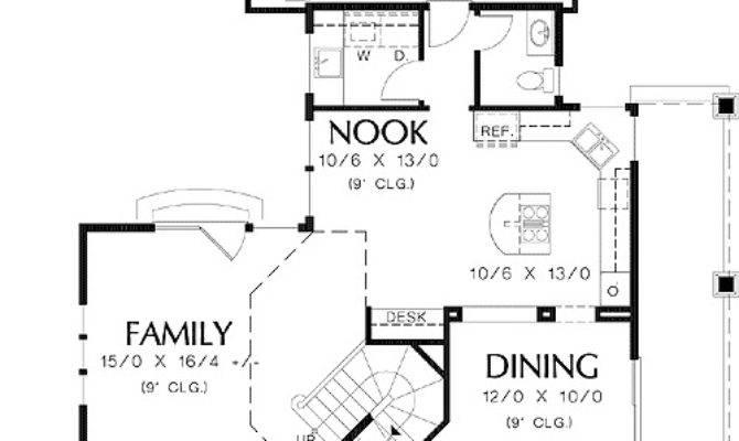 Corner Lot Floor Master Suite Cad
