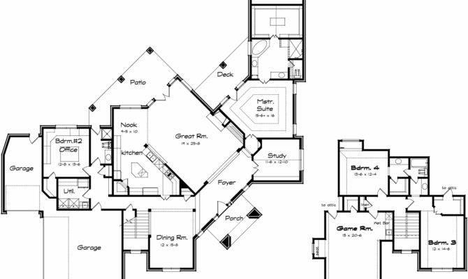 Corner Lot House Plans Over