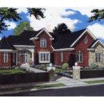 Cornerstone Park European Home Plan House Plans More
