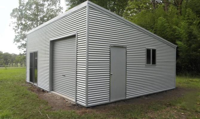Correct Finish Shed Roof Garage