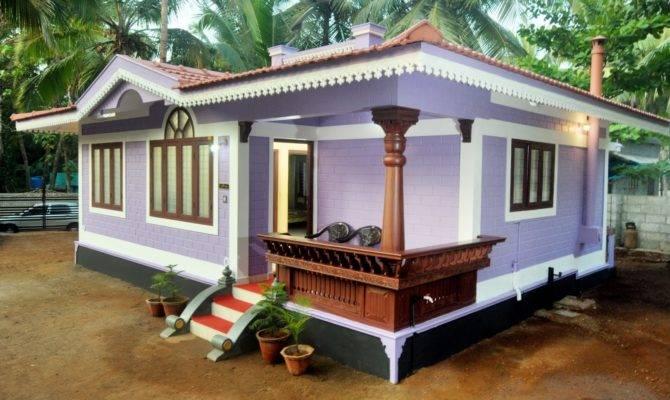 Cost Building Small House Kerala Tiny Design