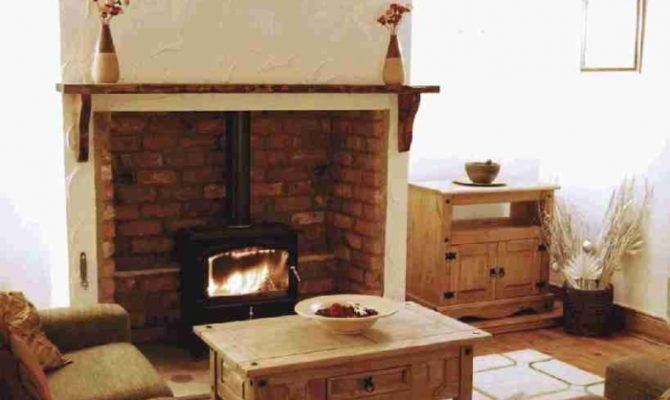 Cosy Living Room Wood Burning Stove Return Listing