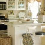 Cottage Certain Ideas Yellow Kitchen Afreakatheart