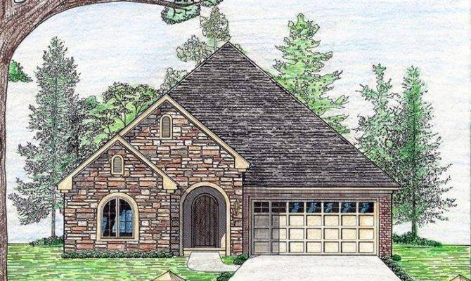 Cottage Country European House Plan