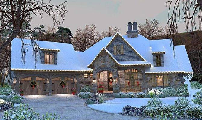 Cottage Craftsman French Country House Plan