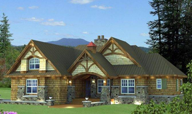 Cottage Craftsman Ranch House Style