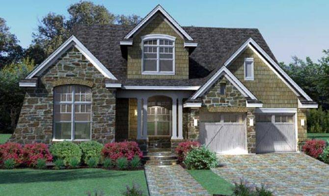 Cottage Craftsman Southern Traditional Tuscan House Plan