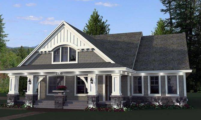 Cottage Craftsman Traditional House Plan Here