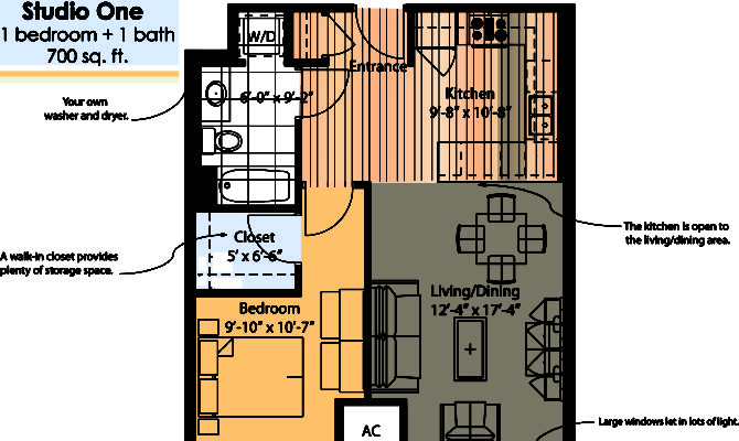 Cottage Finder Modern Home Single Bedroom Apartment Plans Cabin