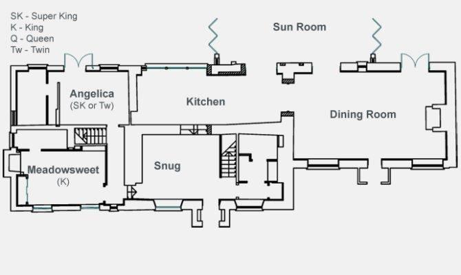 Cottage Floor Plan Bungalow Plans