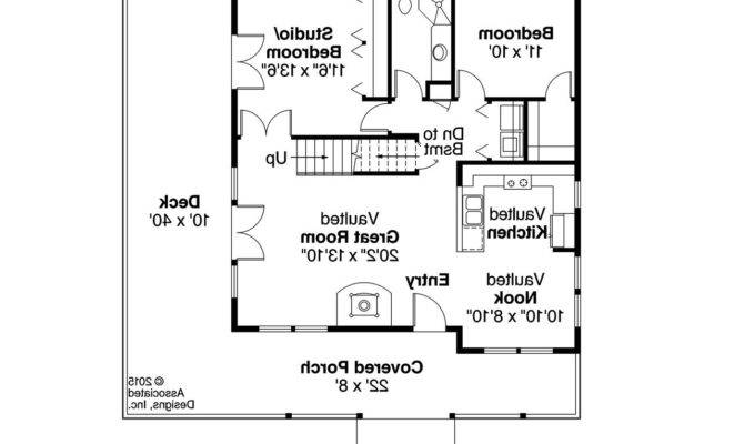Cottage Floor Plans Hillary Mill One Story Home Plan House