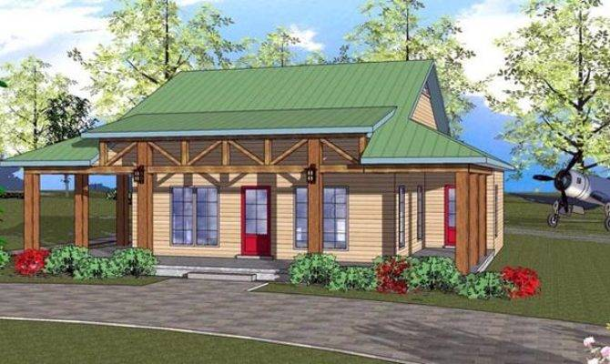 Cottage Florida Southern House Plan Designs